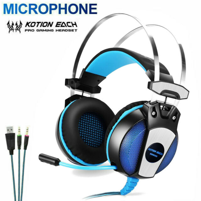 Wired And Wireless Headphones Pc Gaming Headset For Nintendo Switch Ps4 Laptop For Sale Online Ebay