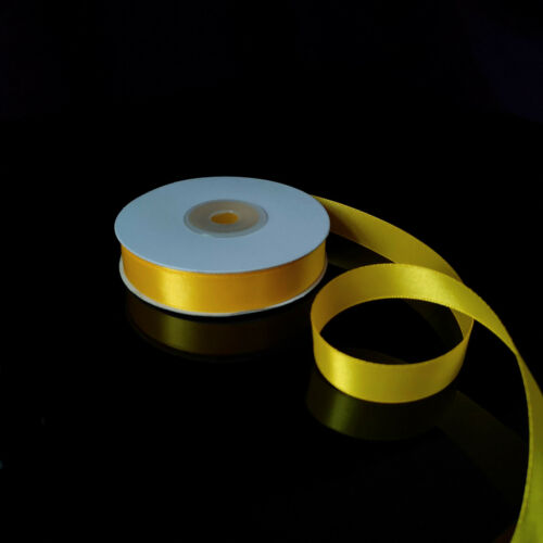 choose width colour and length Satin Ribbon in Cut Lengths Double Sided Faced