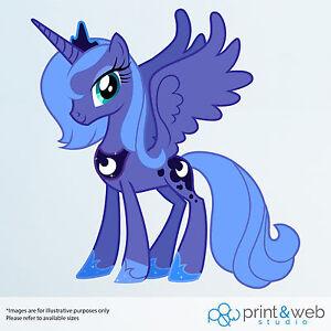 My Little Pony Princess Luna Vinyl Decal Wall Sticker Kids