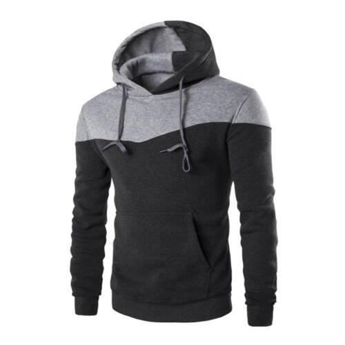 Mens Winter Warm Hoodie Sweatshirt Hooded  Coat Jacket Sport Outwear Sweater Hot