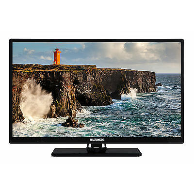 Telefunken XH24D101 LED Fernseher 24 Zoll HD TV Triple-Tuner DVB-T2/-C/-S2 CI+