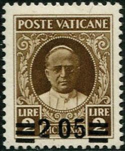 VATICANO-1934-2-05-su-2-L-bruno-con-varieta-senza-virgola-fra-le-cifre-4-791
