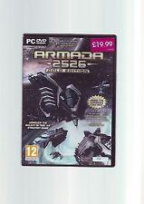 Armada 2526 Gold Edition-con Supernova PC Expansion-Juego rápido post-en muy buena condición