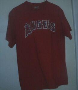 bab6a913959 MAJESTIC MLB LOS ANGELES ANGELS  45 ESCOBAR T-SHIRT  SIZE LARGE