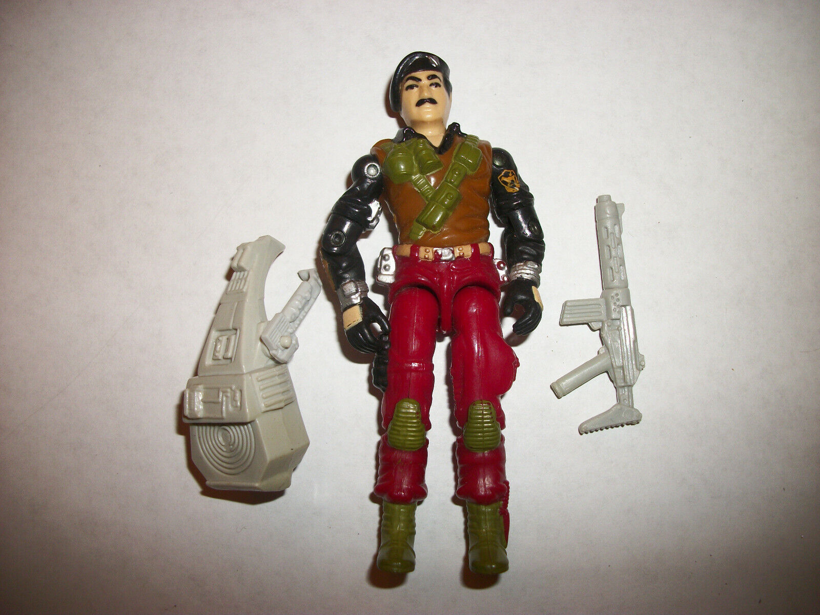 GI Joe Vintage 80s Figure Hasbro 1986 Special Special Special Missions Brazil Dial Tone Complete 45058d