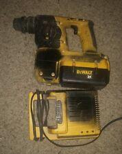 DeWALT 36 volt Hammer Drill DC233 battery 36v battery charger  hammerdrill