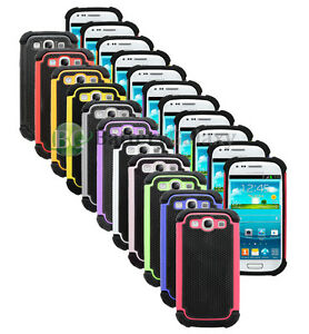 LOT-Hybrid-Rugged-Rubber-Hard-Case-Cover-Skin-for-Samsung-Galaxy-S3-S-III-3