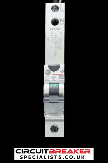 HAVELLS 10 AMP TYPE B 10kA 30mA RCBO RCD MCB PSH110BR30 GREY