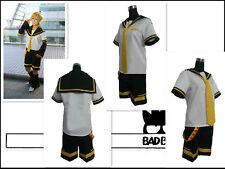 Vocaloid Len Kagamine Cosplay Costume
