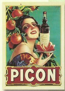 affiche poster cadeau publicite ancienne picon biere ebay. Black Bedroom Furniture Sets. Home Design Ideas