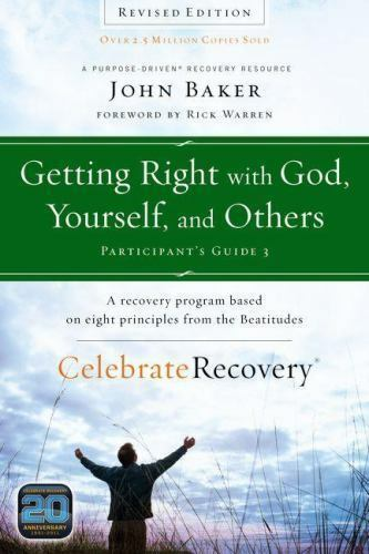 celebrate recovery getting right with god yourself and others rh ebay com celebrate recovery participants guide 2 celebrate recovery participant's guide
