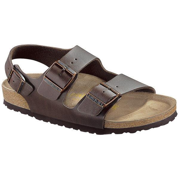 Birkenstock Milano Birko-Flor normal Schuhe Sandale Sandalette Weite normal Birko-Flor 034701 365750