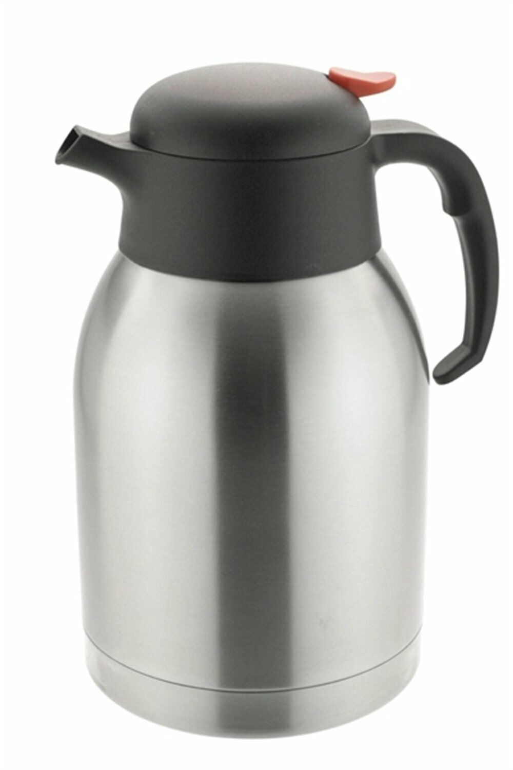New 2L Stainless Steel Double Wall Isolating Jug Vacuum Thermos Flask Hot Cold