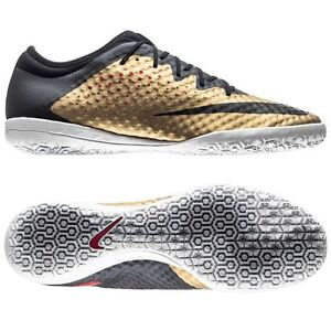 e0d35852f Nike Mercurial X Finale 2015 NikeSkin Indoor Soccer SHOES Gold - Red ...
