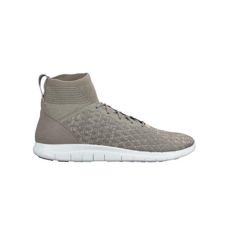 Mens NIKE FREE HYPERVENOM 3 FK Light Charcoal Trainers 898030 003