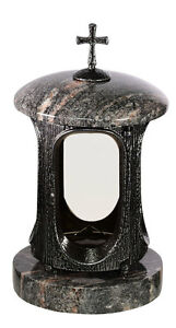Granitlaterne Grablampe  Grableuchte  Granit  Himalaya  Laterne aus Granit