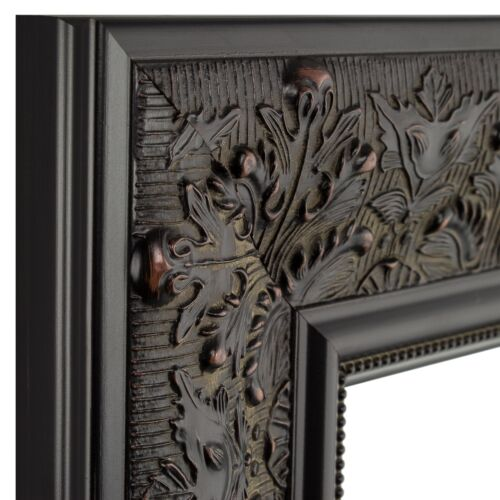 """Craig Frames 3.5/"""" Wide Aged Ornate Distressed Black Wall Decor Picture Frames"""