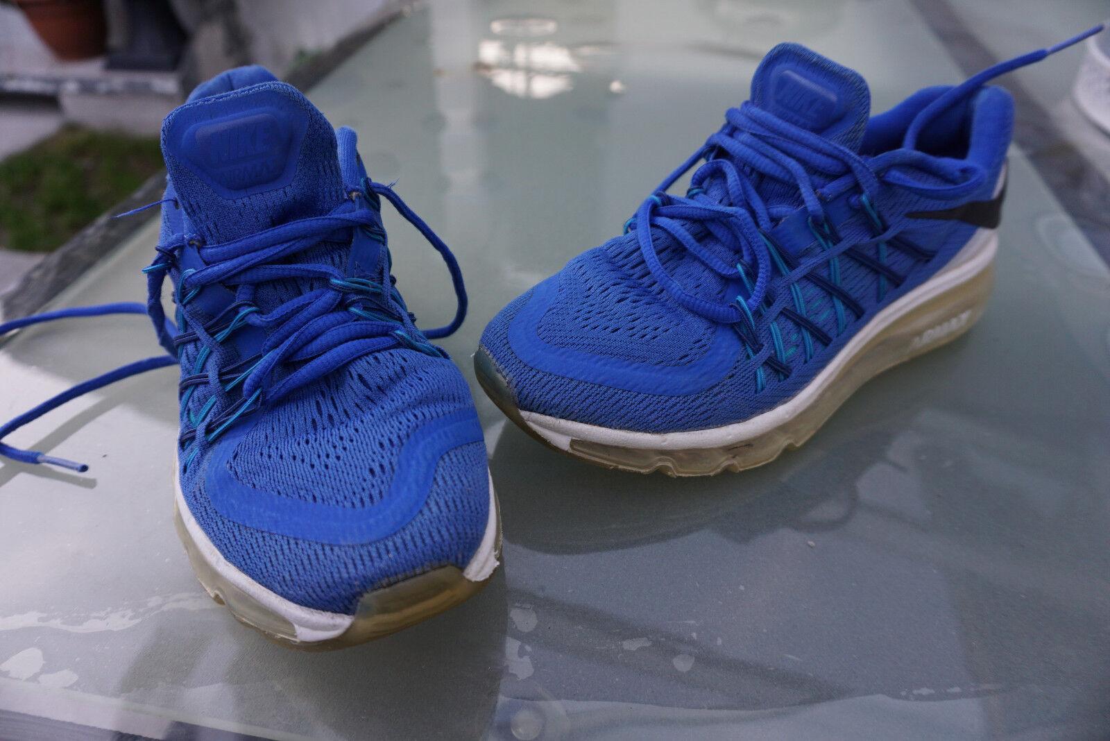 Nike Air Blau Max Game Royal 90 Blau Air Weiß Running Sneaker Schuhe Gr.36,5 blau weiß a4f9cb