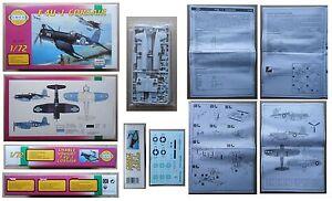 CHANCE-VOUGHT-F4U-1-CORSAIR-Smer-1-72-model-kit-vintage-modellismo-Rep-Ceca