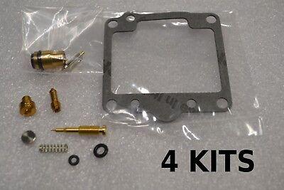 4 KITS 4x Kawasaki 81-83 KZ1000 LTD J ELR CSR Carburetor Carb Rebuild Kit