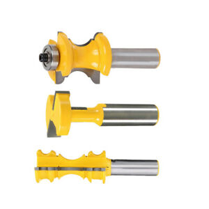 Router Bits Rail Stile Router Bits Woodworking Cutter Corwn 1//2/'/'x 1-1//8/'/'