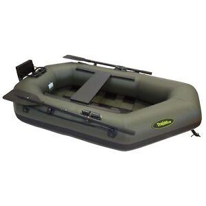 Schlauchboot Angelboot Gummiboot - 1 Mann mit Sitzbank und Motorspiegel
