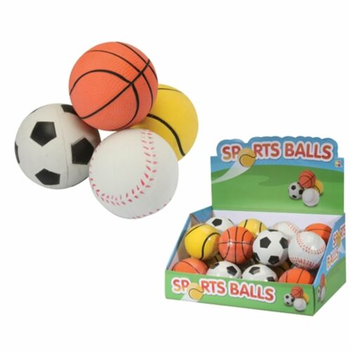 HGH Bounce Sports DESIGN BALLE 5 CM Jouet Doux Cadeau Outdoors Fun chiens Childs Kids