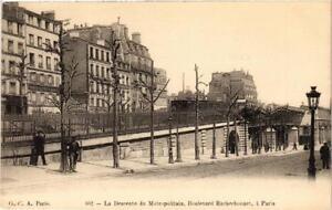 CPA-PARIS-18e-La-descente-du-Metropolitain-Boulevard-Rochechouart-539555