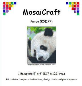 MosaiCraft-Pixel-Craft-Mosaic-Art-Kit-039-Panda-039-Pixelhobby