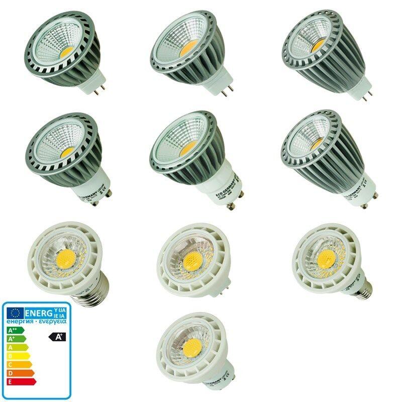 LED GU10 MR16 E14 E27 SMD LED COB Lampe Birne Leuchte Spot Strahler 3W 4W 6W 9W