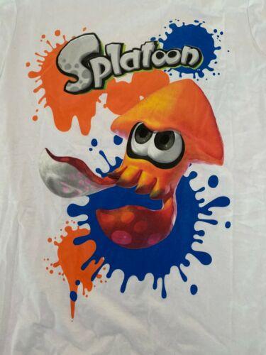 Splatoon Wii U T-Shirt Squid M Medium Nintendo ink