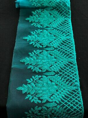 New Gorgeous Fancy Zari Gold Trim//Lace embroided on tissue//velvet  Tape//border