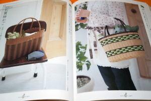 JAPANESE-STYLE-BASKET-and-BASKET-ZAKKA-Book-from-Japan-Craft-Bag-1063