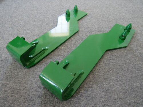 Free Ship! Tractor Loader Quick Tach Weld On Mounting Brackets Fits John Deere