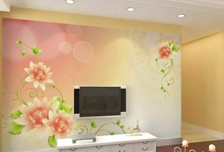 Huge 3D Orange Sunflowers Wall Paper Wall Print Decal Wall Deco Indoor wall Home