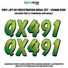 Create boat lettering or graphics, registration numbers, hailing ports,  decals and more with