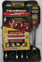 GearWrench 5 PC. Metric Double Ratcheting Combination Wrench Set 85595 Tools and Accessories