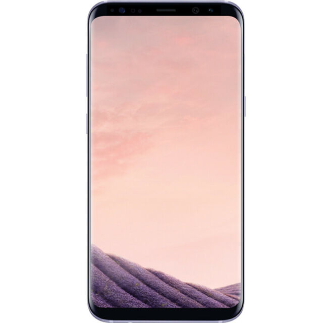 """Samsung Galaxy S8 SM-G950U 64 Go (Débloqué d'usine) 5,8"""" 4G LTE - Gris Téléphone"""