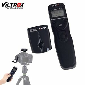 Details about Viltrox Wireless Remote Shutter Release for Nikon D7200 D5500  D5600 D750 D760
