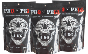 Propell Airsoft BBs High Precision Competition Grade Airsoft Pellets x 3Kg 0.20g