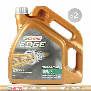 castrol edge supercar 10w 60 fst fully synthetic car. Black Bedroom Furniture Sets. Home Design Ideas