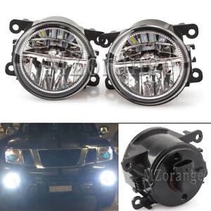 L-R-Side-LED-Front-Bumper-Fog-Light-Lamp-For-Mitsubishi-380-Mirage-Pajero-Sport
