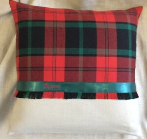Rogers-Welsh-Tartan-Cushion-Wedding-Anniversary-Birthday-Christmas-Gift
