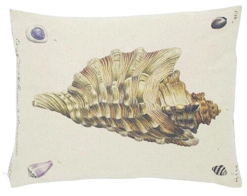 35 x 45 cm Motivkissen mit Füllung Muscheln Mars /& More Baumwolle