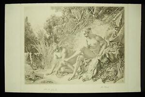 A-Besse-c1924-Diane-to-Bath-Ap-Francois-Boucher-Beautiful-Proof-Condition-Set