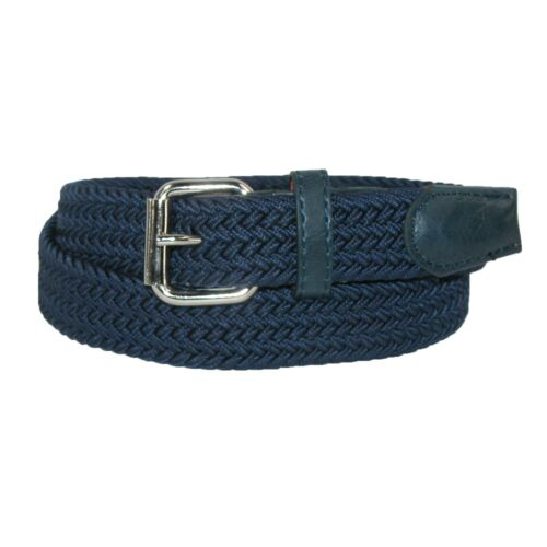 New CTM Kids/' Elastic Braided Stretch Belt