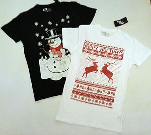 a1b907ea66971 PRIMARK MENS CHRISTMAS T SHIRT TEE SHIRT T TOP SNOWMAN REINDEER NEW ...