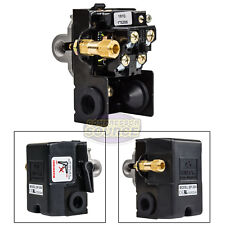 Heavy Duty 25 Amp Air Compressor Pressure Switch Control 140 175 Psi 4 Port