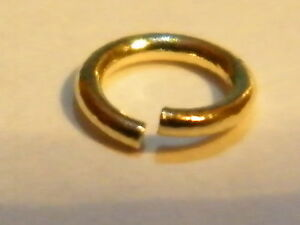 9ct Yellow Gold Jump Ring Finding 212eT8
