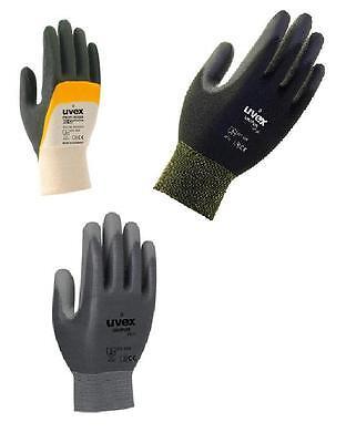 1 Paar UVEX Unipur 6639 schwarz Handschuhe Arbeitshandschuhr Gr 11 Neu
